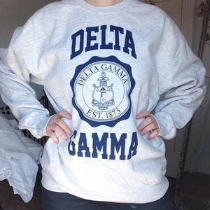 Delta Gamma Crest Crewneck